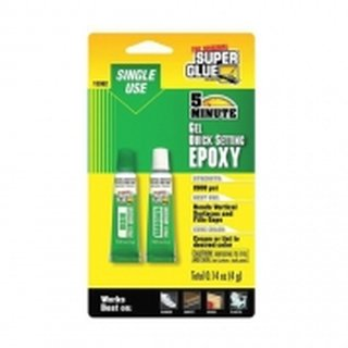 ZAP 15362-12 4GM GEL 5 minute Gel Quick Setting Epoxy 4 g (0.14 oz) single use - ZAP