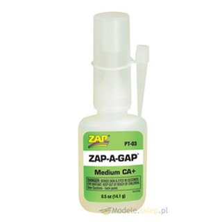 ZAP PT-03 1/2 oz. (14.1 gram) ZAP-A-GAP - CA Glue Medium 28.1g
