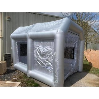 Inflatable Paint Booth