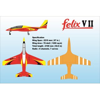 FELIX SportJet  Red Yellow